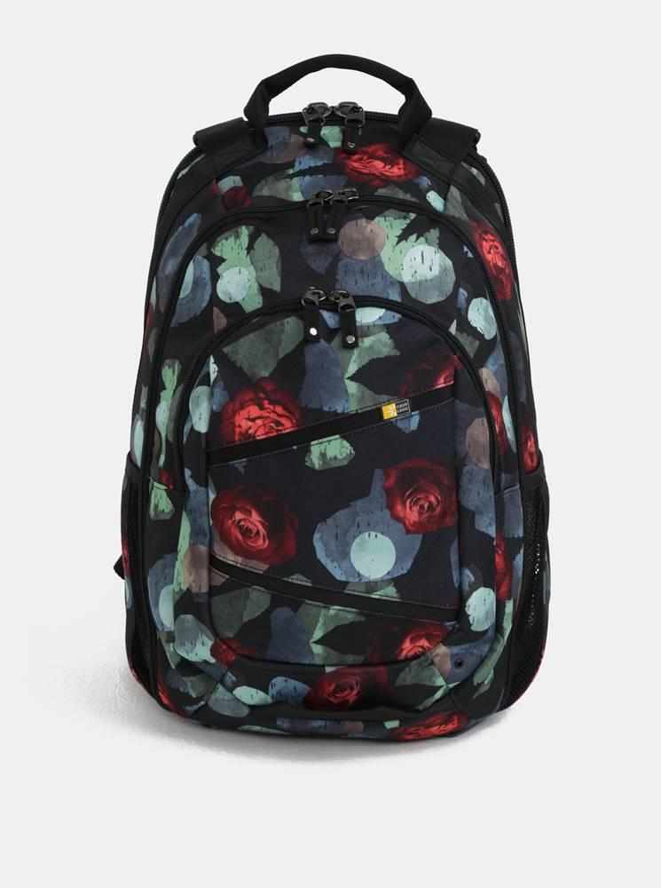 """Case Logic Čierny vzorovaný batoh na notebook 15,6"""" Case Logic Berkeley 29 l"""