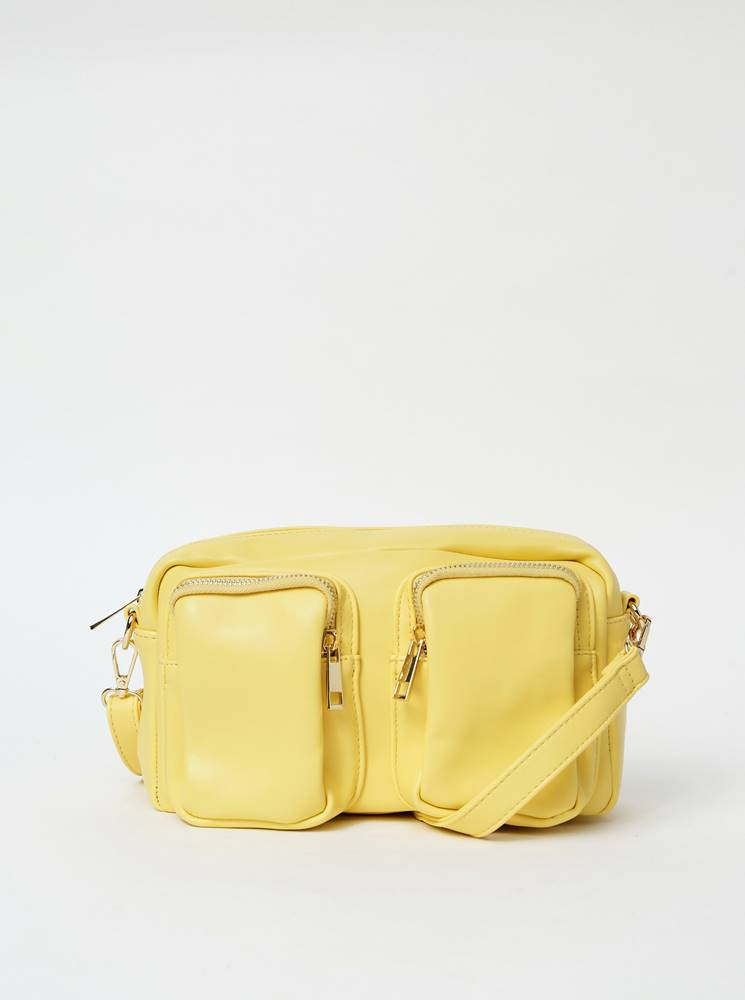 Žltá crossbody kabelka Hail...