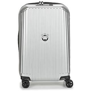 Pevné cestovné kufre Delsey  SECURITME ZIP 55 CM 4 DOUBLE WHEELS TROLLEY