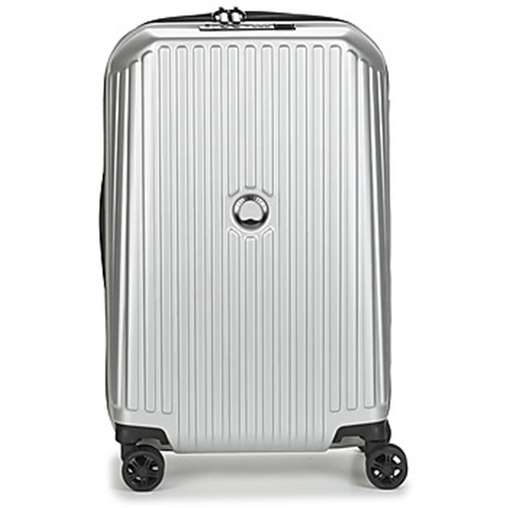 Delsey Pevné cestovné kufre Delsey  SECURITME ZIP 55 CM 4 DOUBLE WHEELS TROLLEY