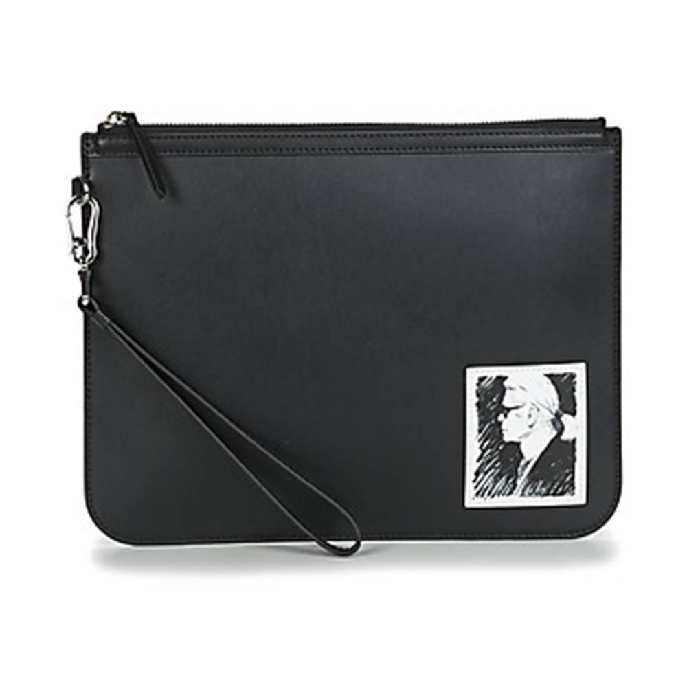 Karl Lagerfeld Vrecúška/Malé kabelky Karl Lagerfeld  KARL LEGEND CLUTCH LUXURY