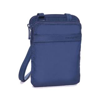 Hedgren Rupee RFID Passport Holder Dress Blue Tone on Tone