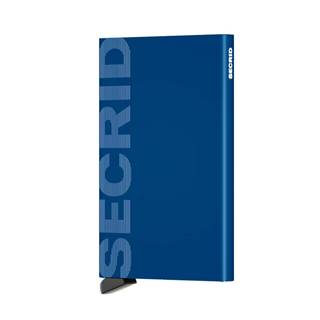 Secrid Cardprotector Laser Logo Blue