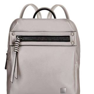 Titan Spotlight Zip Backpack Metallic Pearl