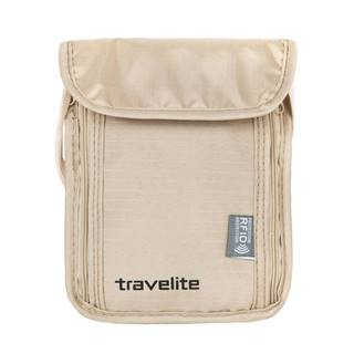 Travelite Neck pouch RFID Beige
