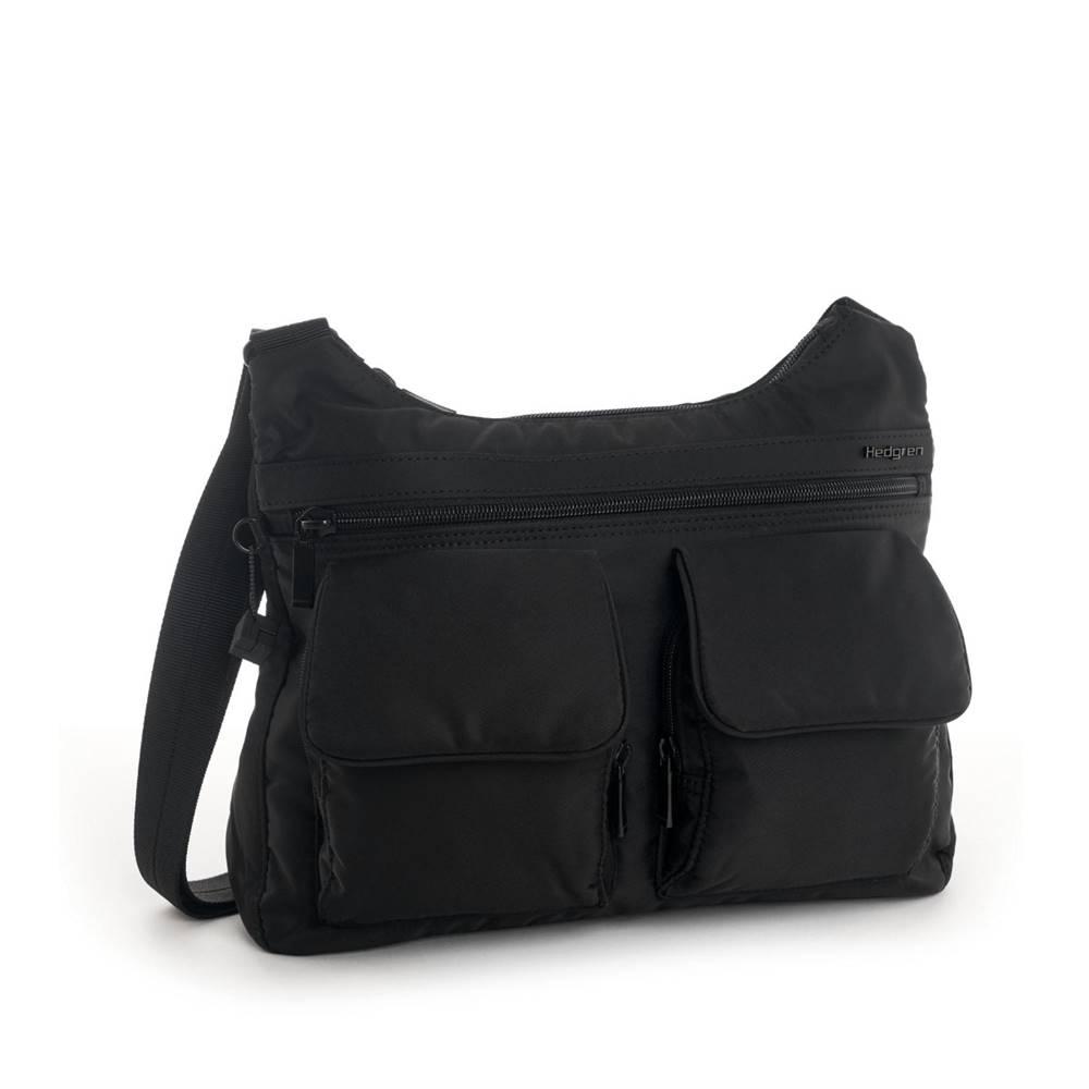 Hedgren Hedgren Shoulderbag Prarie RFID Black Tone on Tone