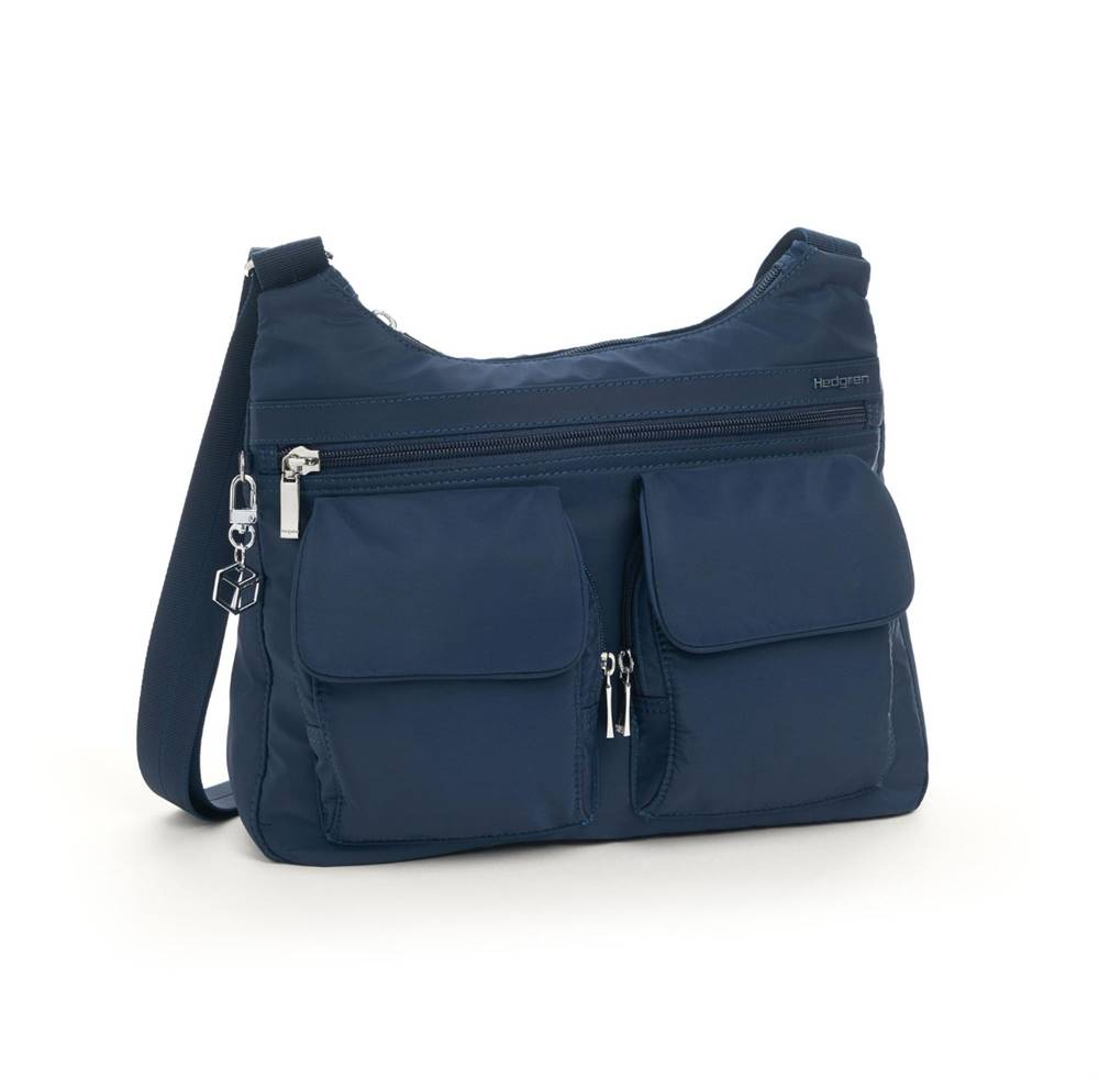 Hedgren Hedgren Shoulderbag Prarie RFID Dress blue