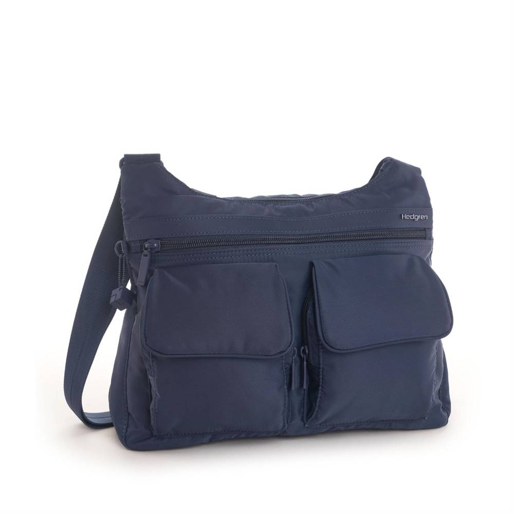 Hedgren Hedgren Shoulderbag Prarie RFID Dress blue Tone on Tone