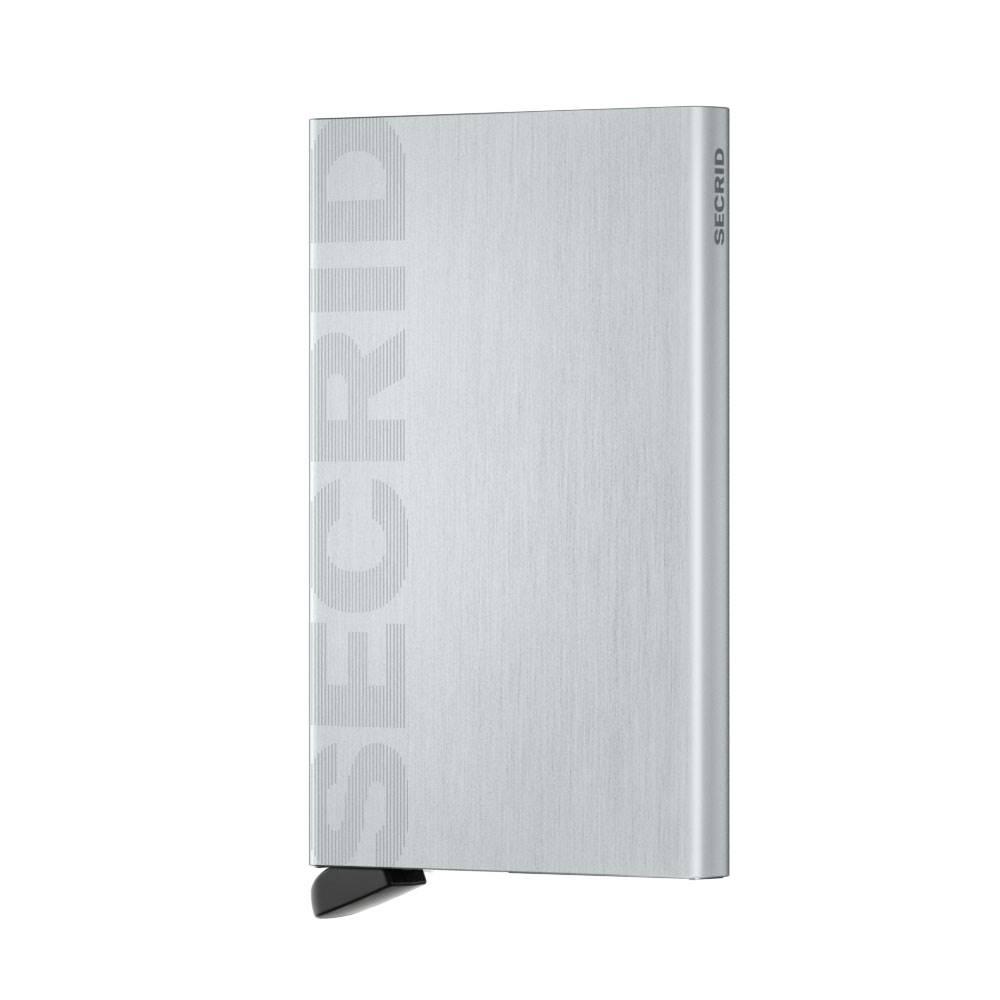 Secrid Secrid Cardprotector Laser Logo Brushed Silver