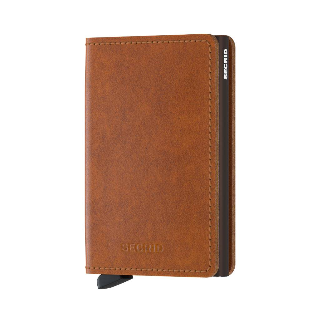 Secrid Secrid Slimwallet Original Cognac-Brown