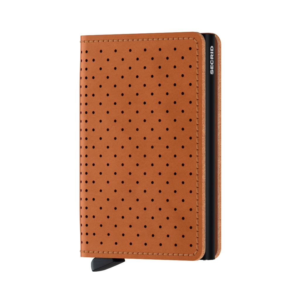 Secrid Secrid Slimwallet Perforated Cognac