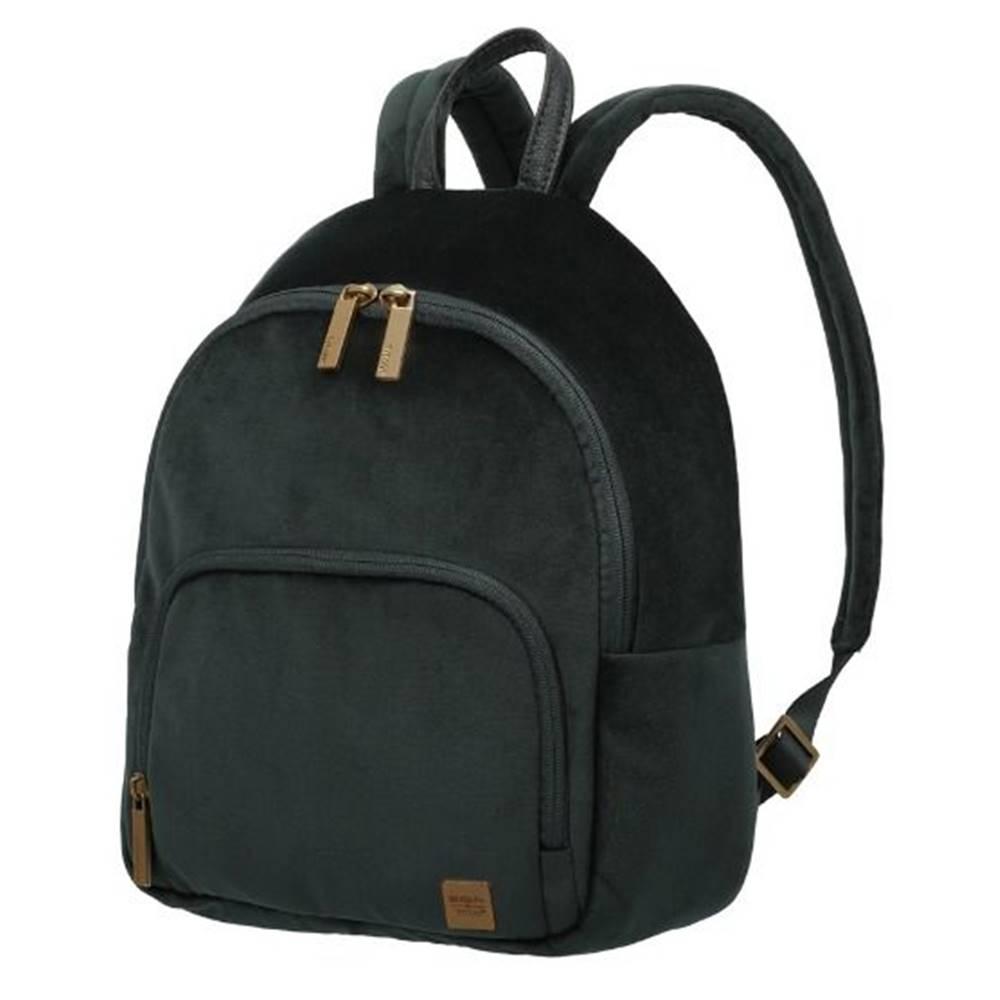 Titan Titan Barbara Velvet Backpack Forest Green