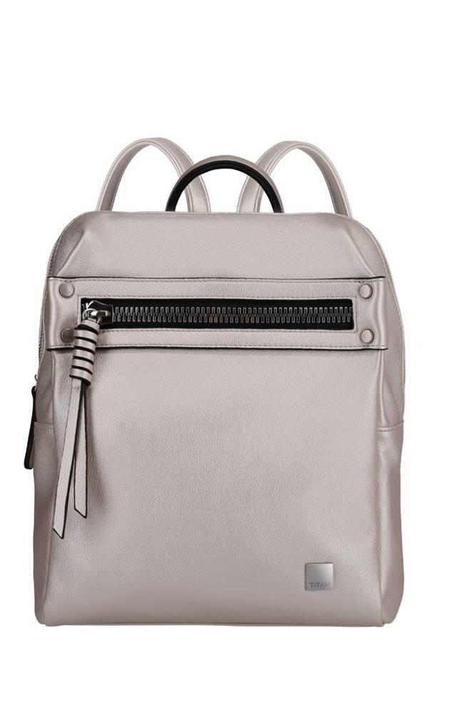 Titan Titan Spotlight Zip Backpack Metallic Pearl