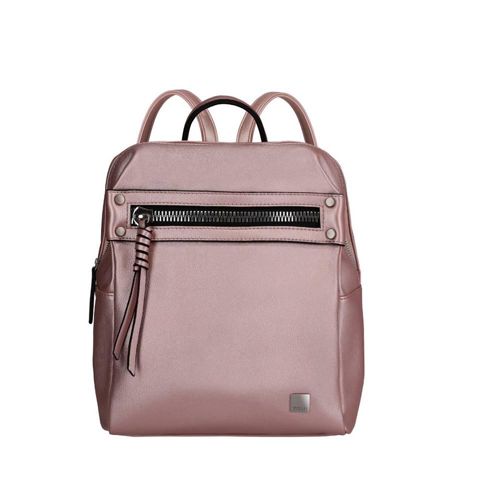 Titan Titan Spotlight Zip Backpack Metallic Pink