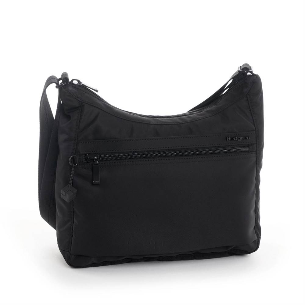 Hedgren Hedgren Shoulderbag Harper´s S RFID Black Tone on Tone