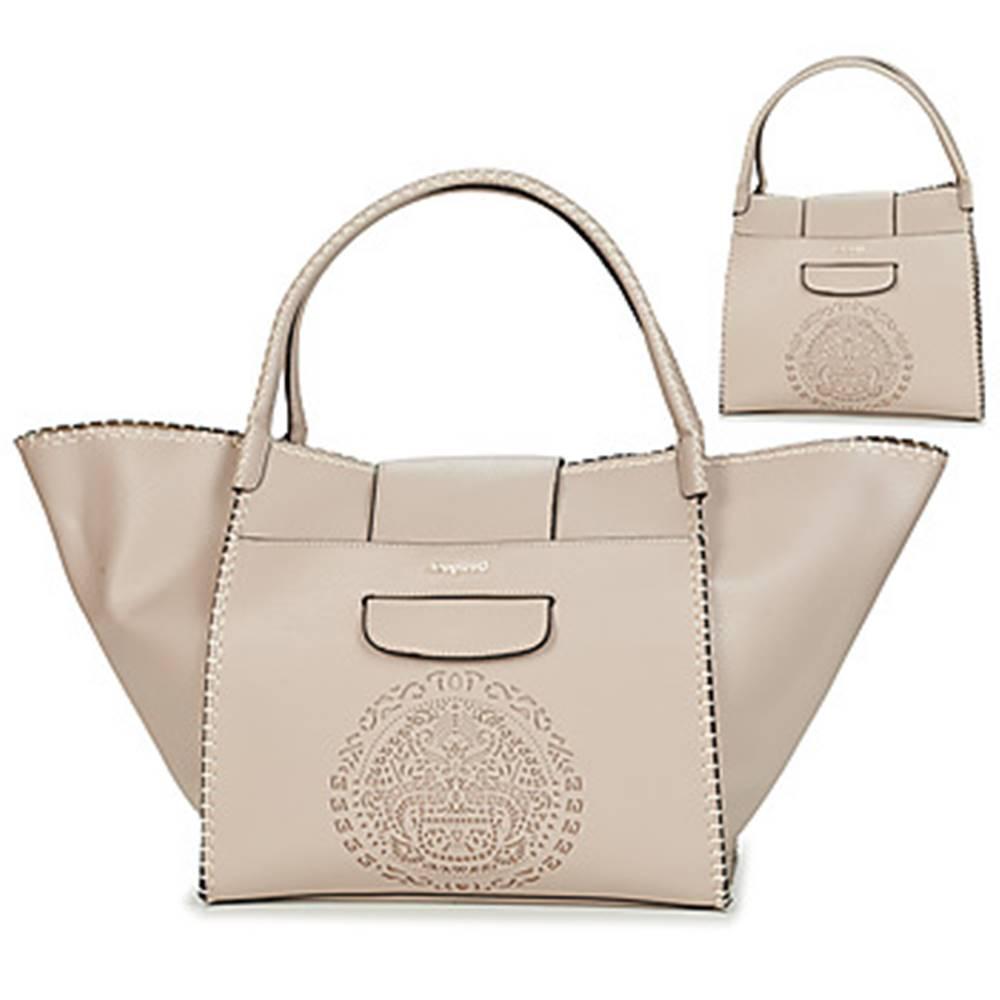 Desigual Veľká nákupná taška/Nákupná taška Desigual  TRIBAL ZARIA MEDIUM