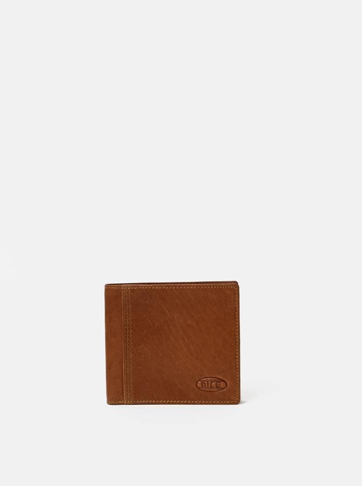 Dice Hnedá pánska kožená peňaženka Dice Ruthland