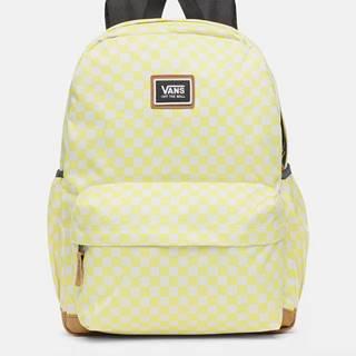 Žltý vzorovaný batoh VANS 27 l