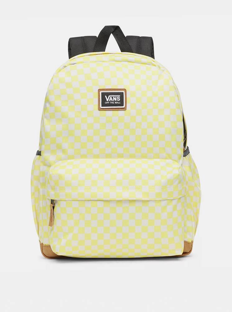 Vans Žltý vzorovaný batoh VANS 27 l