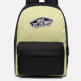 Čierno-žltý vzorovaný batoh VANS 22 l