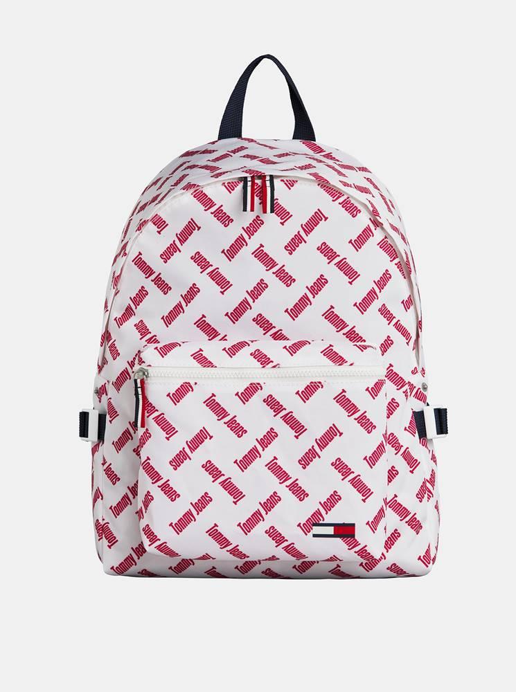 Tommy Hilfiger Biely vzorovaný batoh Tommy Hilfiger