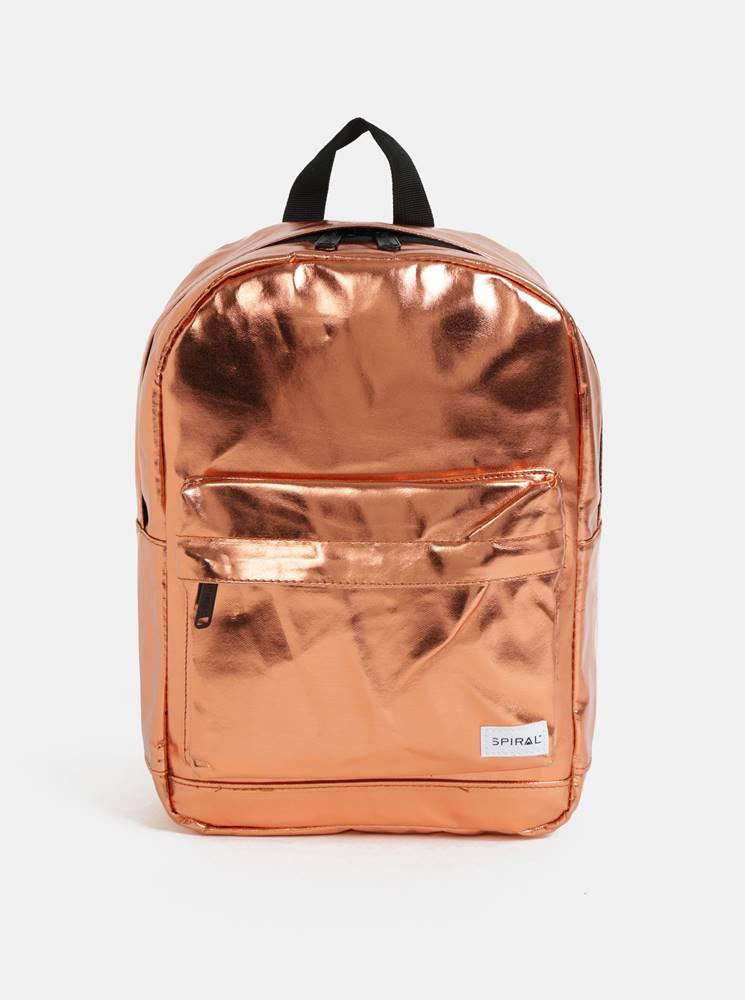 Spiral Oranžový dámsky lesklý batoh Spiral Mini 9 l