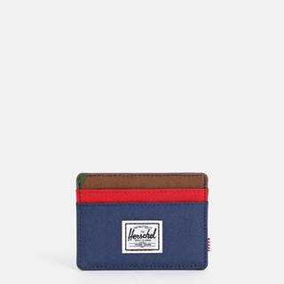 Modré puzdro na karty Herschel Supply Charlie