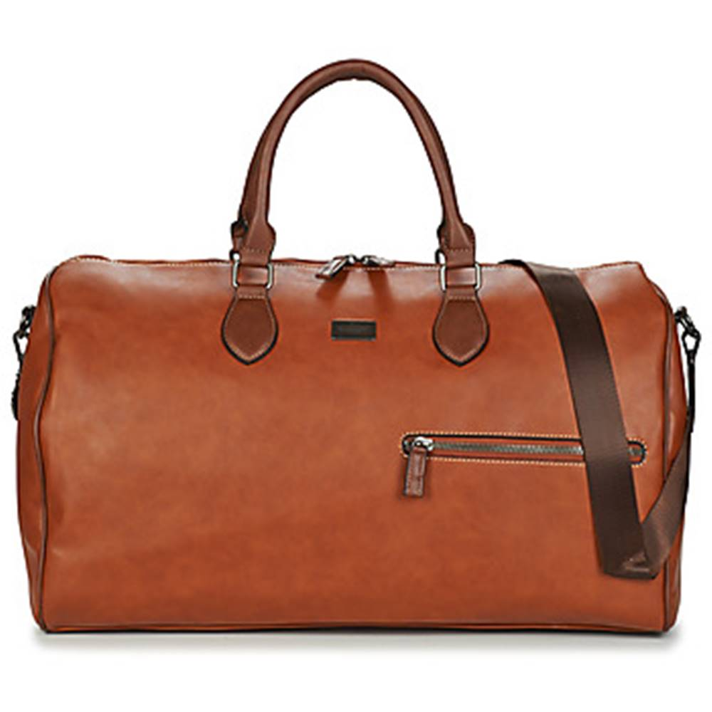 David Jones Cestovné tašky David Jones  CM5148-COGNAC